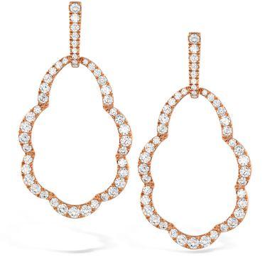 Hearts on Fire 3.45 ctw. Lorelei Open Drop Diamond Earrings in 18K Yellow Gold