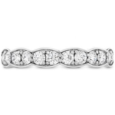 Hearts on Fire 0.7 ctw. Lorelei Floral Diamond Band Large in Platinum
