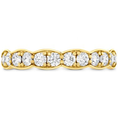 Hearts on Fire 0.7 ctw. Lorelei Floral Diamond Band Large in 18K Yellow Gold