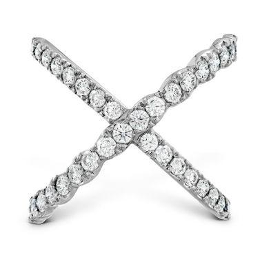Hearts on Fire 1 ctw. Lorelei Diamond Criss Cross Ring in 18K White Gold