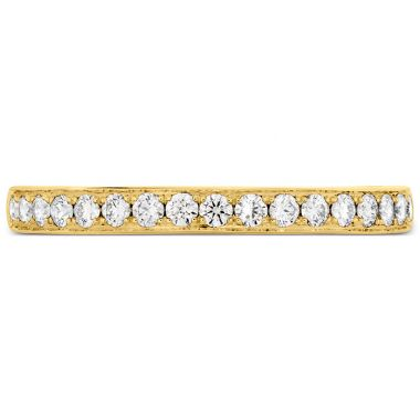 Hearts on Fire 0.2 ctw. Lorelei Bloom Diamond Band in 18K Yellow Gold