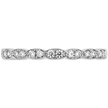 Hearts on Fire 0.2 ctw. Lorelei Floral Diamond Band in 18K White Gold