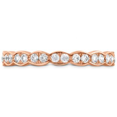 Hearts on Fire 0.4 ctw. Lorelei Floral Eternity Band in 18K Rose Gold