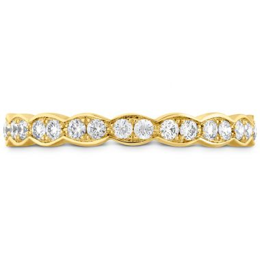 Hearts on Fire 0.45 ctw. Lorelei Floral Eternity Band in 18K Yellow Gold