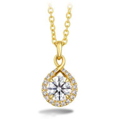 Hearts on Fire 0.56 ctw. Optima Diamond Drop Pendant in 18K Yellow Gold