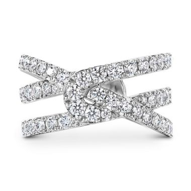 Hearts on Fire 1.34 ctw. Optima Diamond Wrap Ring? in 18K White Gold