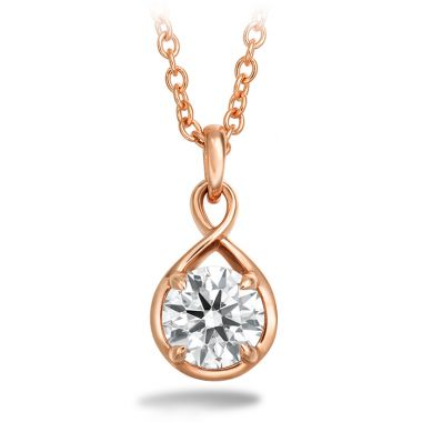 Hearts on Fire 0.34 ctw. Optima Drop Pendant in 18K Rose Gold