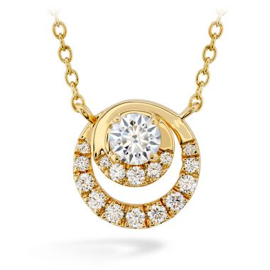 Hearts on Fire 0.38 ctw. Optima Pendant in 18K Yellow Gold