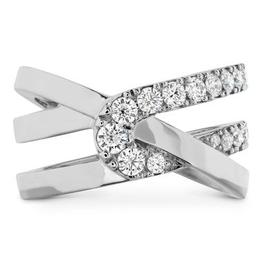 Hearts on Fire 0.65 ctw. Optima Wrap Ring in Platinum