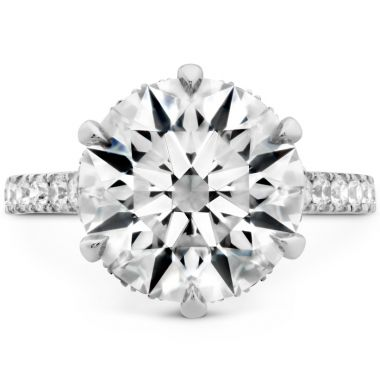 Hearts on Fire The Primrose Diamond Ring in Platinum
