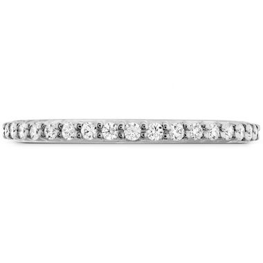Hearts on Fire 0.18 ctw. Simply Bridal Band to Match Twist DER's in 18K White Gold