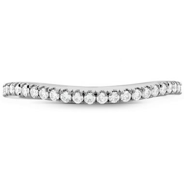 Hearts on Fire 0.18 ctw. Transcend Premier Curved Diamond Band in 18K Yellow Gold
