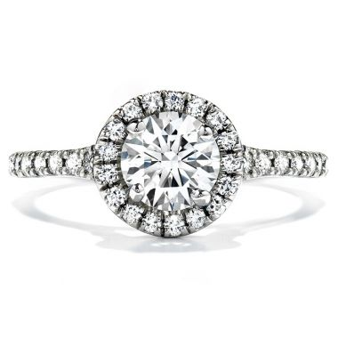 Hearts on Fire 0.4 ctw. Transcend Engagement Ring in 18K White Gold