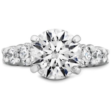 Hearts on Fire The Verona Diamond Ring in Platinum